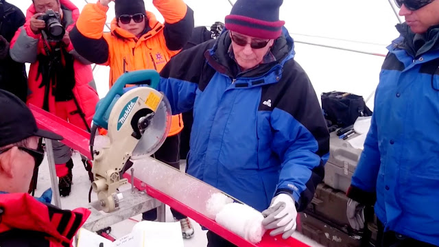 Oldest ice core ever drilled outside the polar regions