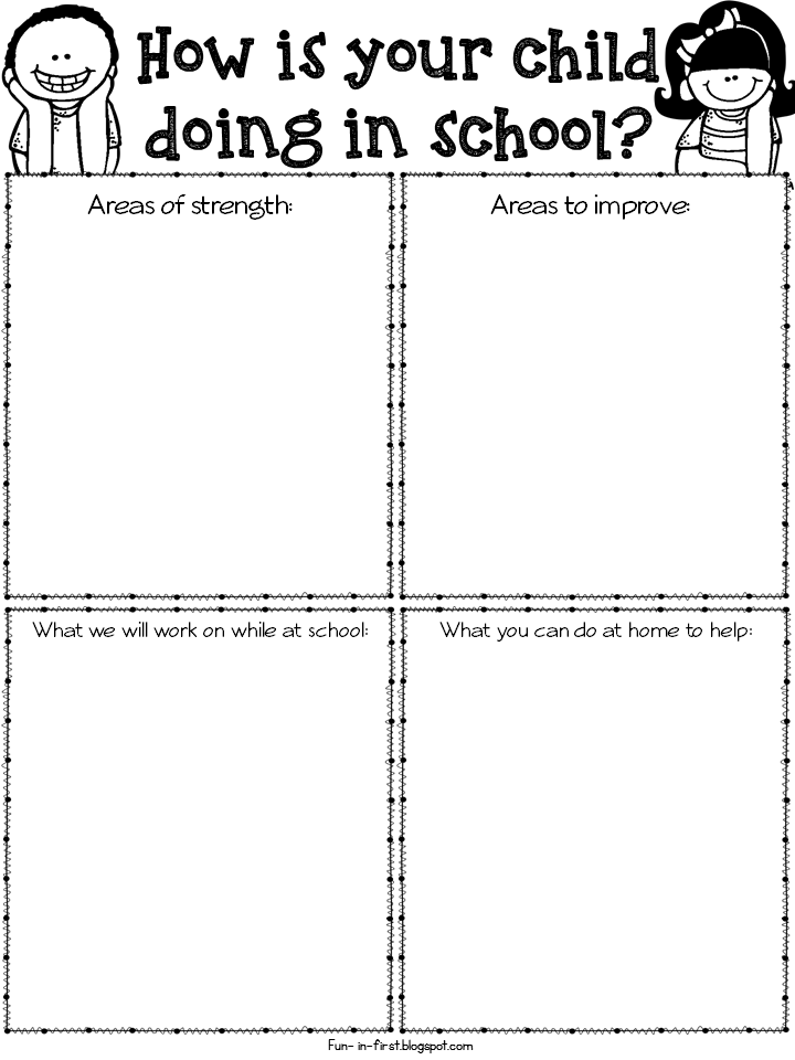 graphic relating to Parent Teacher Conference Form Free Printable titled Pupil Trainer Meeting Template. guardian instructor
