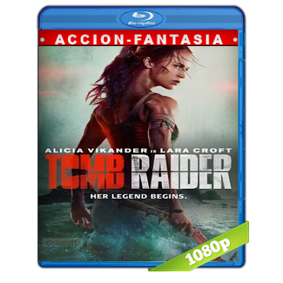 Tom Raider Las Aventuras De Lara Croft (2018) BRRip Full 1080p Audio Trial Latino-Castellano-Ingles 5.1