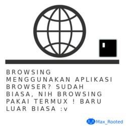 Cara Browsing di Termux Android