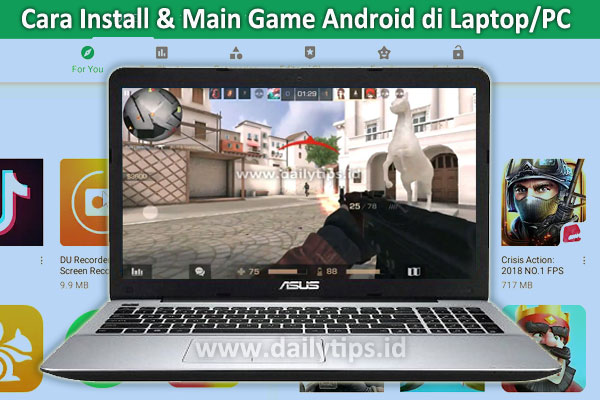 Cara Install | Cara Main Game Android di Laptop | Komputer PC