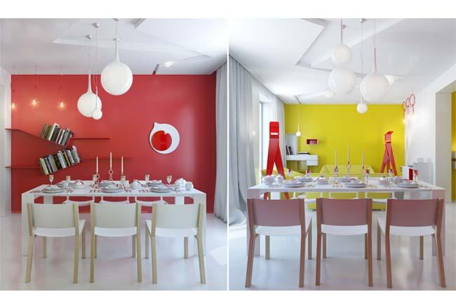 Parete Rossa Cucina Amazing Ecco Qualche Esempio Di Cucina With Parete Rossa Cucina Affordable