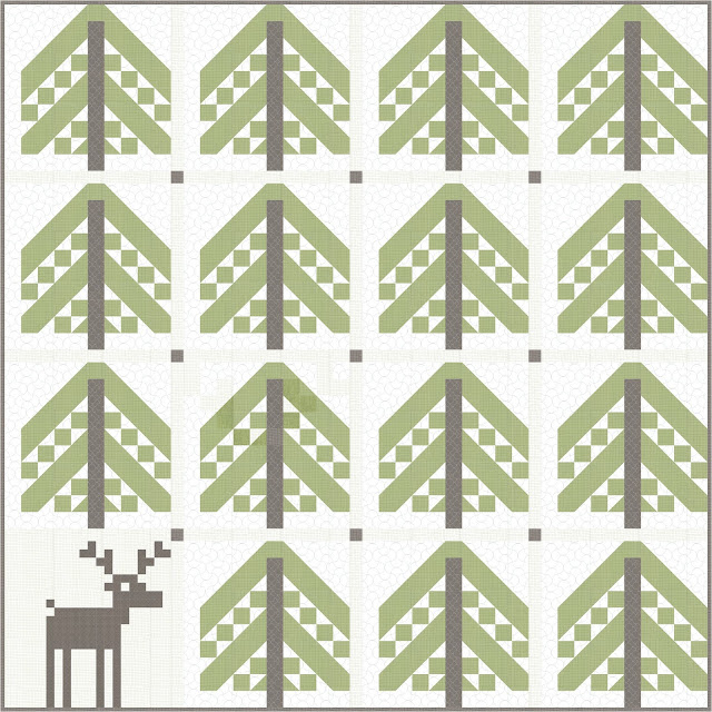 Piece N Quilt: Simple Forest - A Free Quilt Pattern - Featuring ...