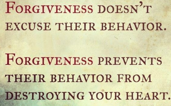 Let go of bitterness