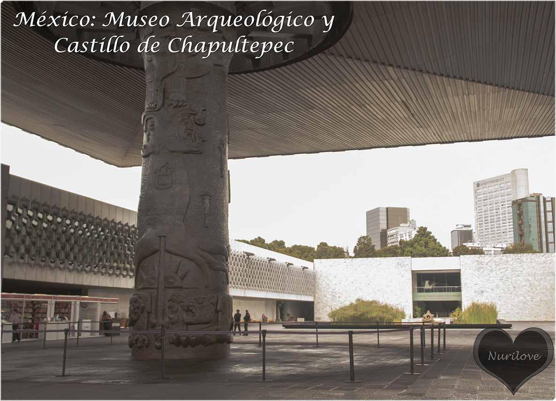 visita cultural en México al Museo arqueológico y el Castillo de Chapultepec