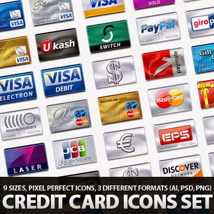 Collection Credit Card/Payment Icons