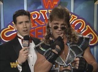 WWF / WWE Survivor Series 1993: Todd Pettingill interviews Shawn Michaels