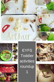 EYFS Toddler Activities roundup 1 learning through play