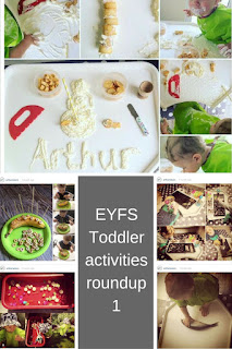 EYFS Toddler Activities roundup 1
