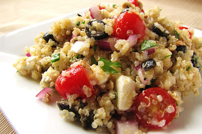 Delicious as it Looks' Summertime Lemon-Feta Quinoa Salad