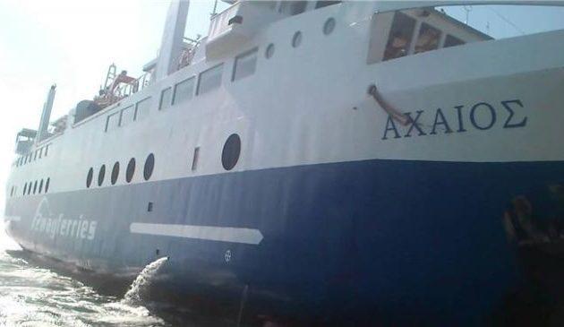 Πλοίο προσέκρουσε στο λιμάνι στο Αγκίστρι – Πέντε επιβάτες τραυματίες