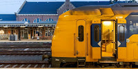 Electric dreams … an NS DDZ at Roosendaal train station in the Netherlands. (Image Credit: Nicky Boogaard via Flickr) Click to Enlarge.