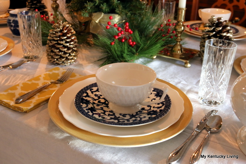 China, dishes, Oneida Sheraton, tablesetting, crystal