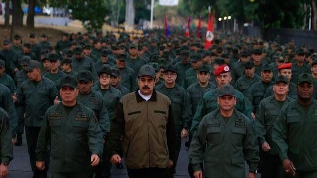 2 posibles escenarios para los militares en la crisis de Venezuela