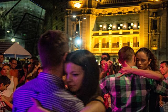 Tango fiesta na Trgu republike