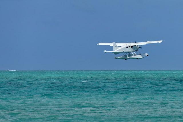 Heron Island Wasserflugzeug Landung Tipps gegen Flugangst Meer