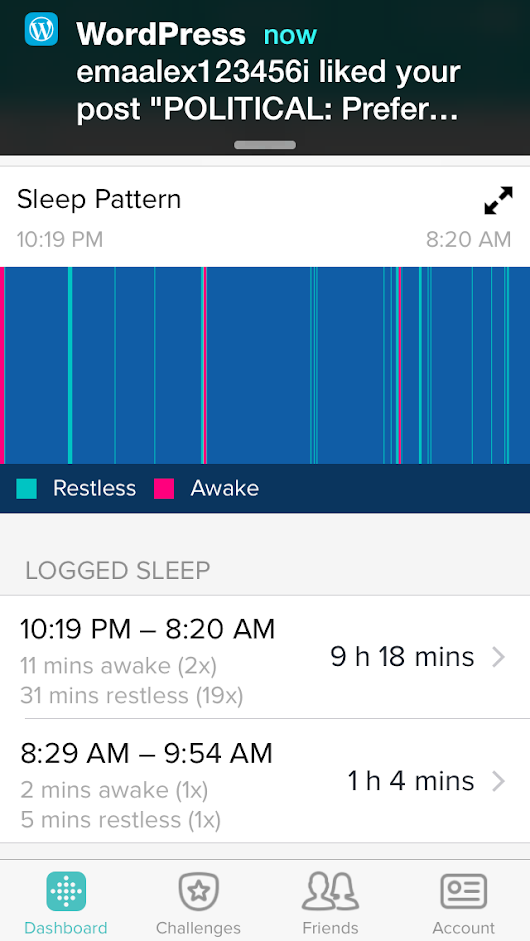 2015-Apr-23 fitbit sleep