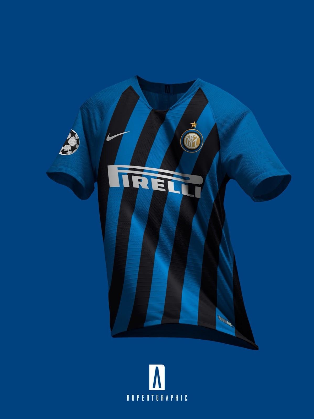 Esta sería la camiseta del Inter de Milan para la temporada 2019-2020 c440e8848d005