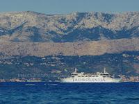 SPLIT - SUPETAR trajekt zima slike otok Brač Online