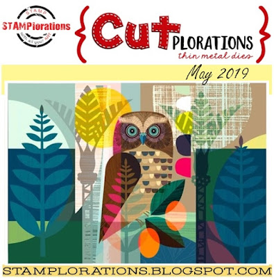 Just Me C Stamplorations May 2019 Cutplorations Challenge Hello