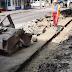 Video. A început reabilitarea trotuarelor pe strada Ștefan Mihăileanu