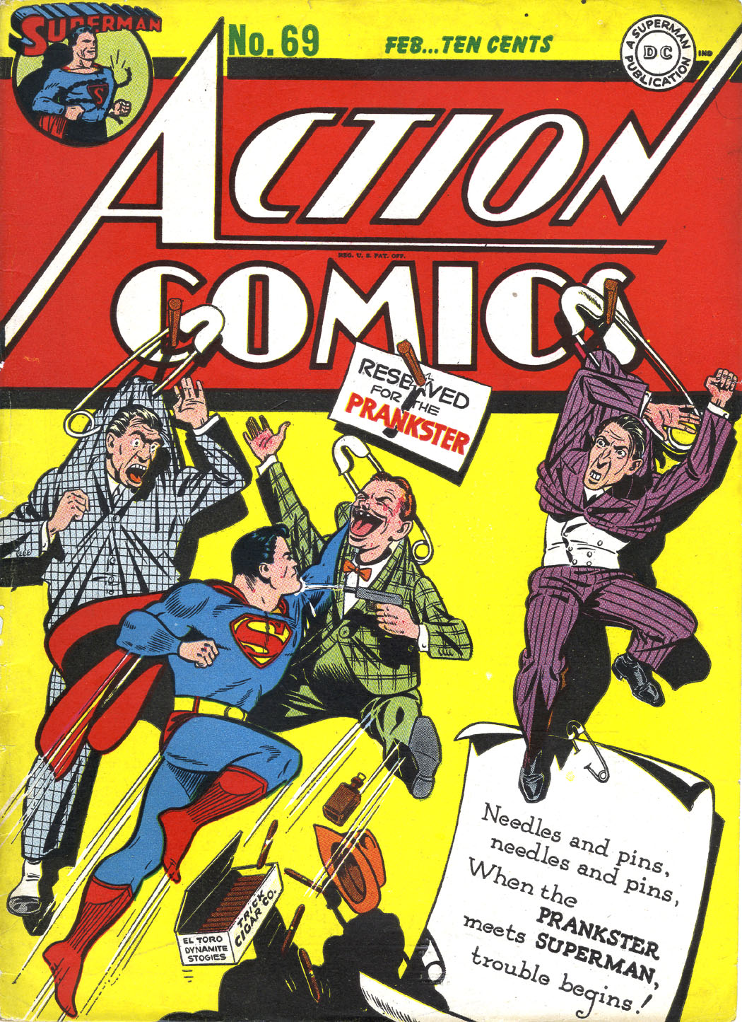 Action Comics (1938) 69 Page 1