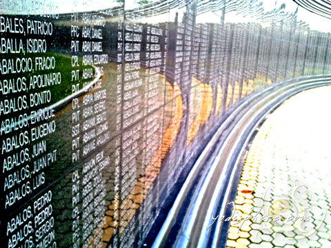 Names of the Filipinos and Americans who died during Death March
