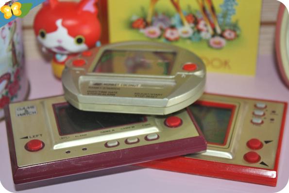jeux électroniques de type Game & Watch
