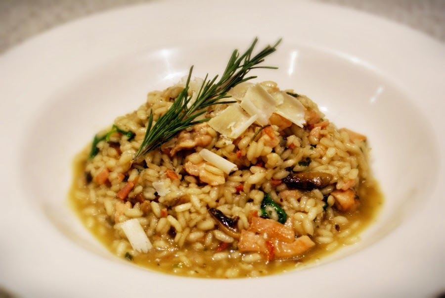 Rosemary Chicken and Mushroom Risotto Recipe
