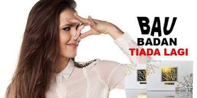 Body soap solution(bss) terbukti di makmal dapat mengatasi masalah badan berbau dengan berkesan