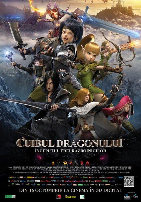 Cuibul Dragonului – Începutul erei războinicilor  Dublat In Romana