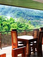 d'riam resort, hotel yang asri dekat kawah putih ciwidey