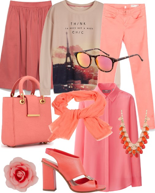 PANTONE 16-1548 Peach Echo _set