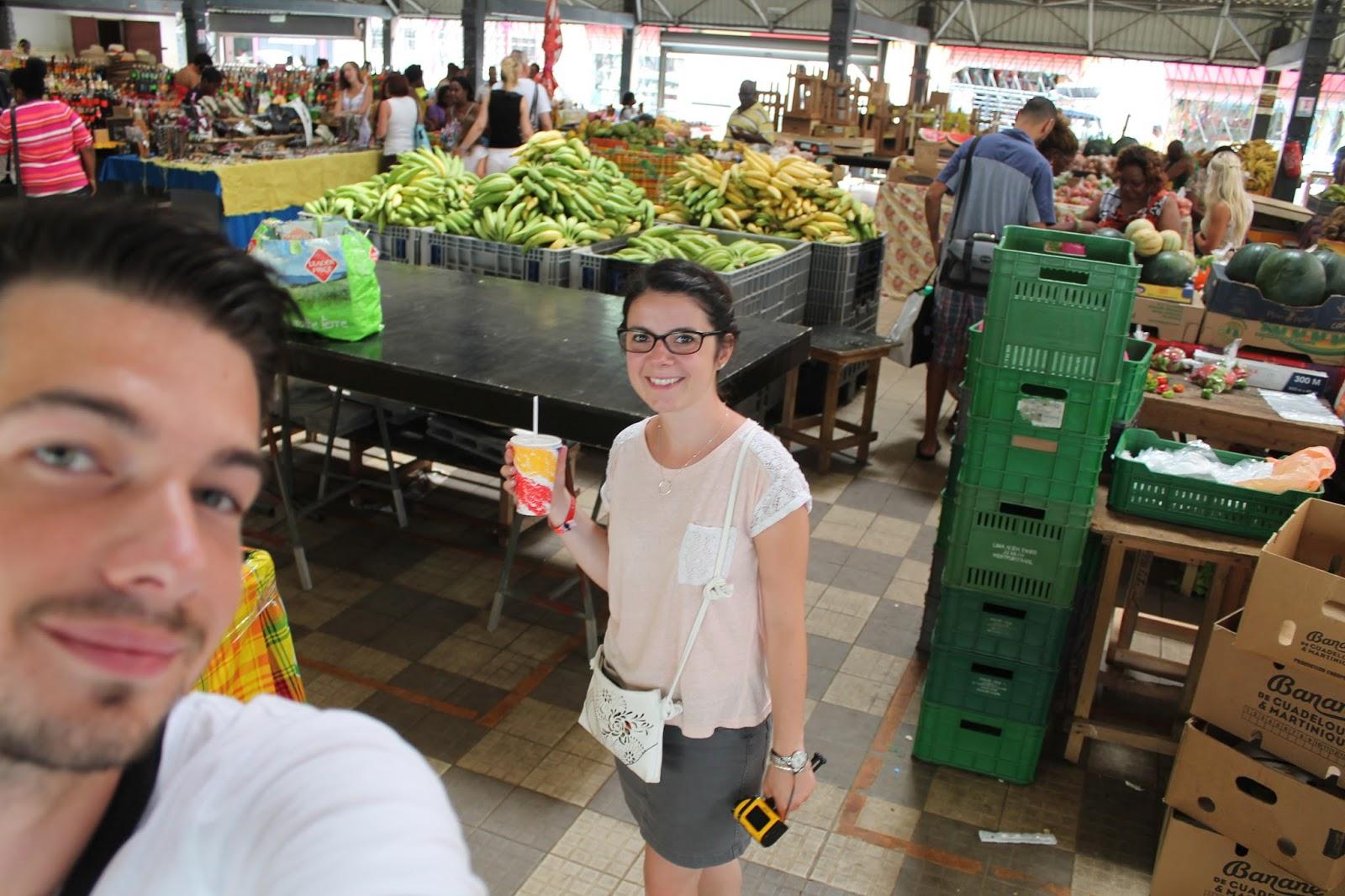 voyage martinique 972 île caraibes vacances holidays que faire semaine mer plage fort de france marché créole jus de canne
