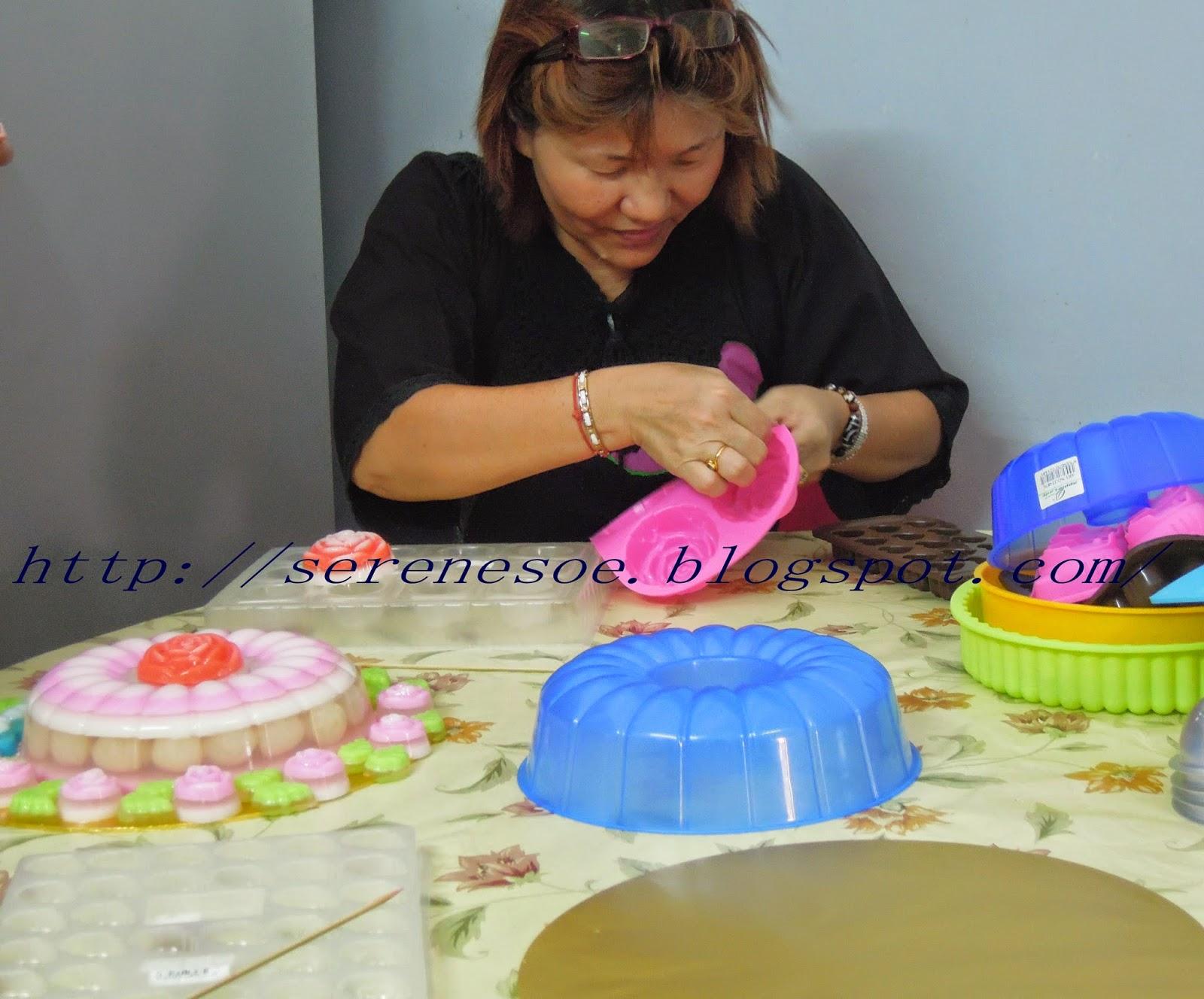 北马区燕菜教学基础班 North Malaysia (Basic Class Jelly Cake Course