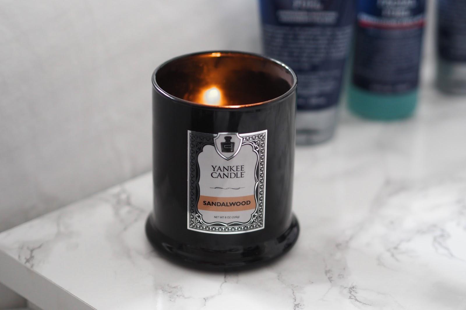 Yankee Candle Barbershop Sandalwood