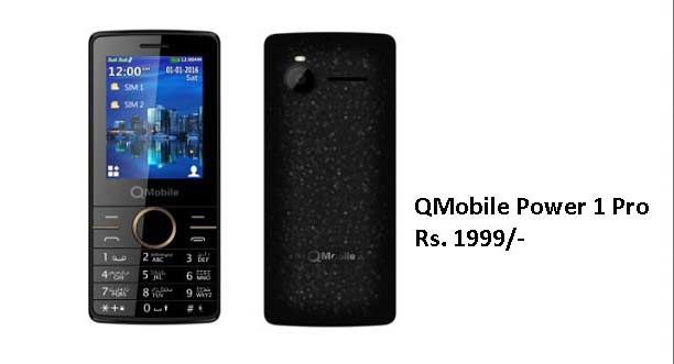 QMobile Power 1 Pro Launched