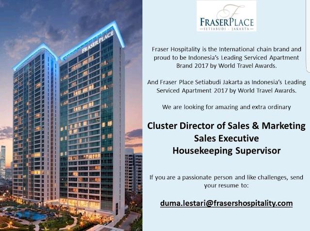 hotelandjobs, housekeeping supervisor, sales executive