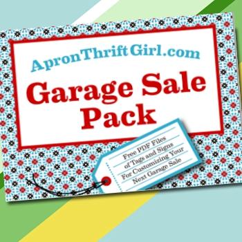 Free printable Garage and Yard Sale Signs