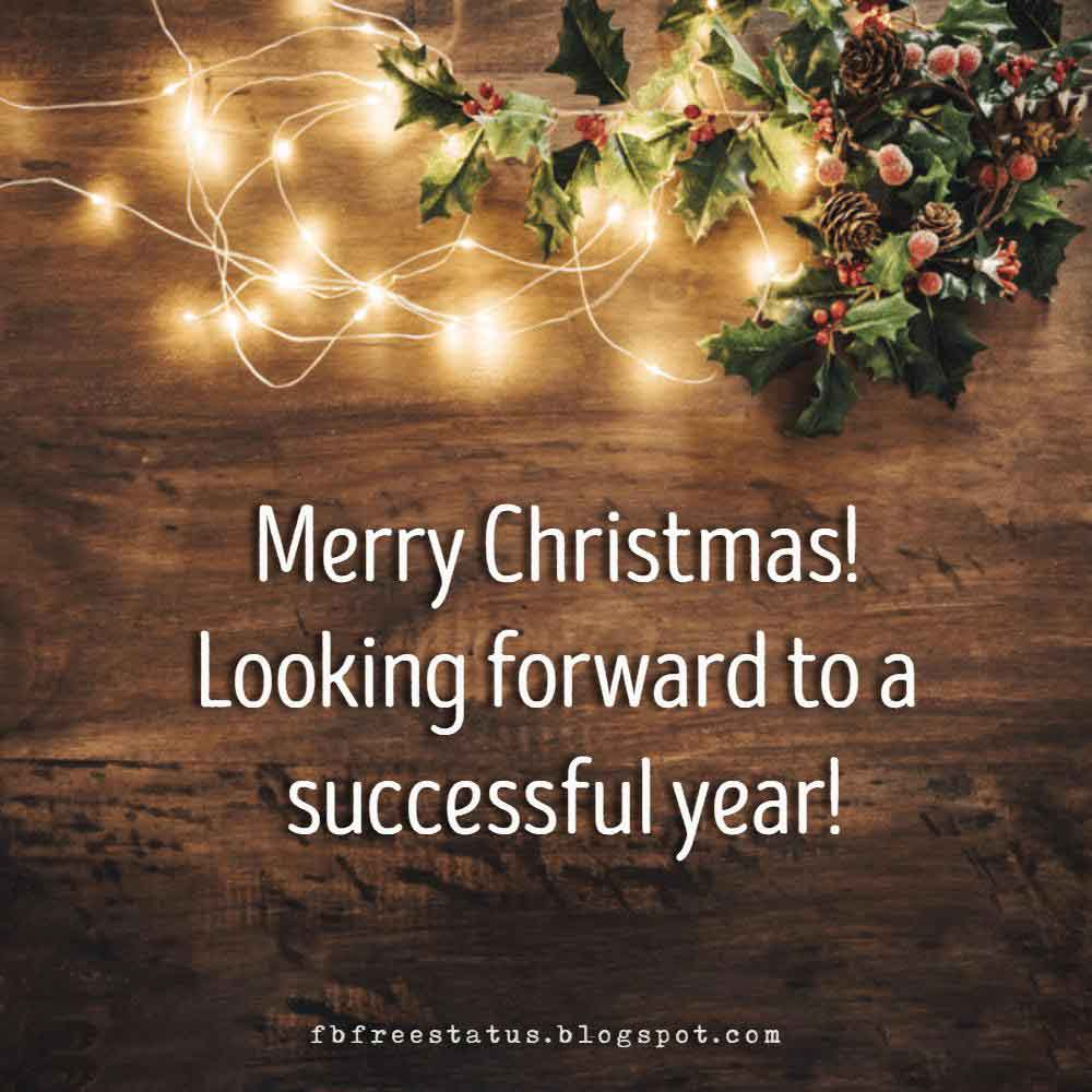Business Christmas Greetings Sayings and Messages
