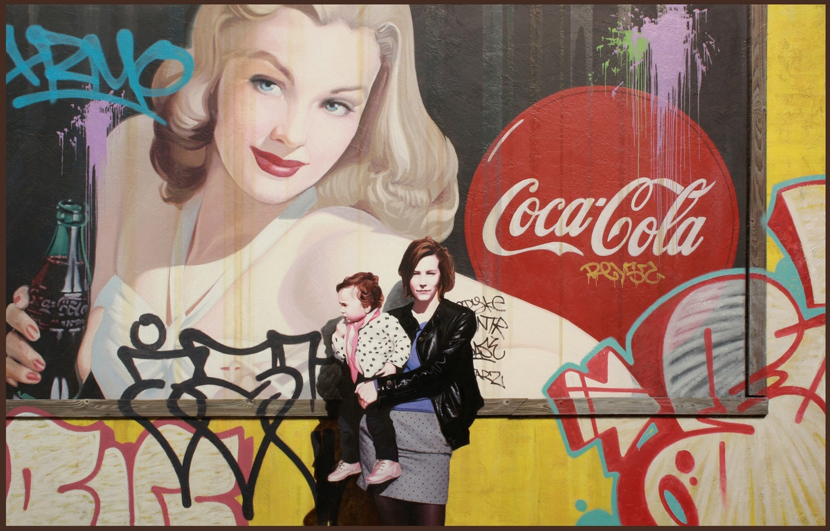 09-Enjoy-Coke-Kevin-Peterson-Children-Exploring-Hyper-Realistic-Paintings-www-designstack-co
