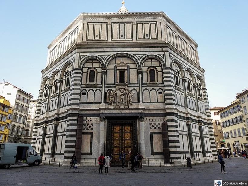 Batistério São João Batista - Roteiro: 2 dias em Florença