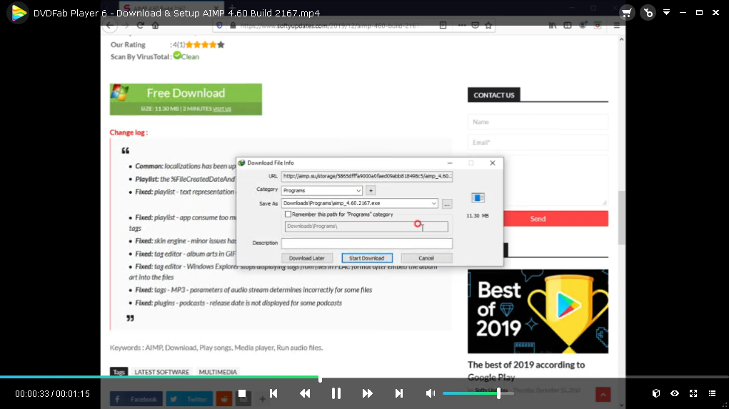 DVDFab Player 6.0.1.0