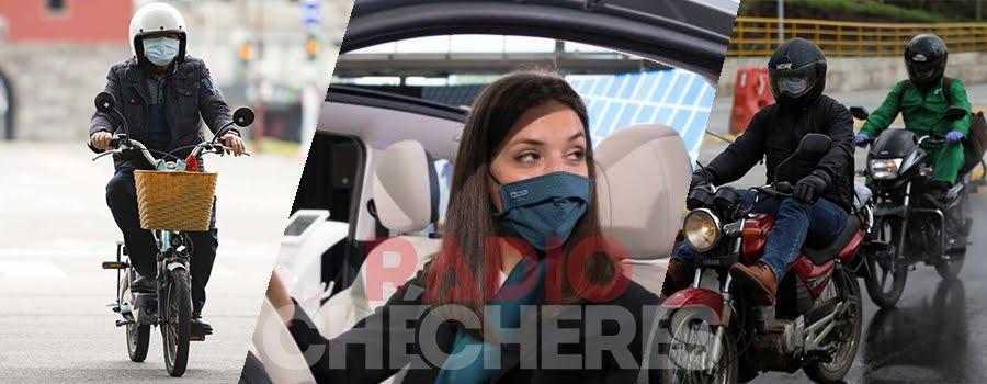 Aclaran: #Bogotá, NO es obligatorio el uso del tapabocas en vehiculos que van con sólo quien conduce