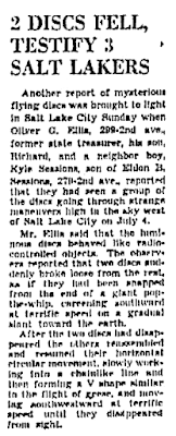 2 Discs Fell, Testify 3 Salt Lakers - The Salt Lake Tribune (Salt Lake City, Utah) 7-7-1947