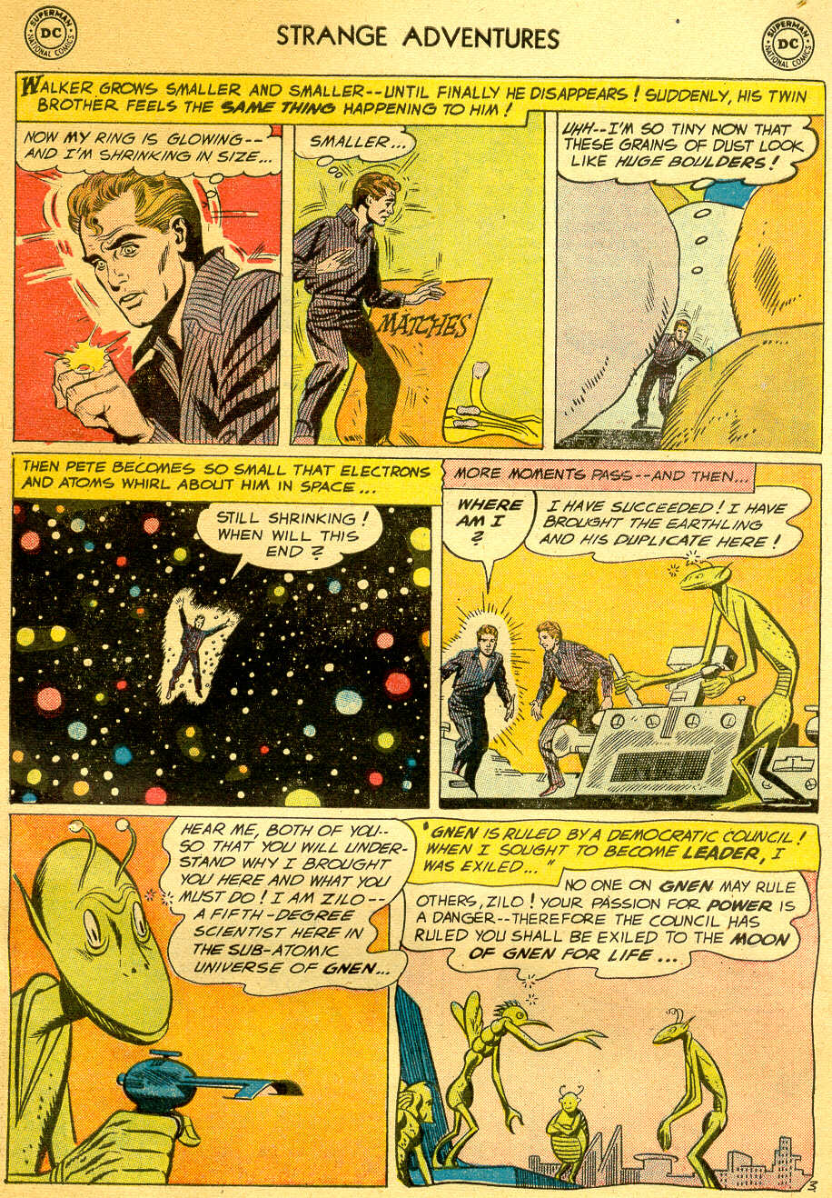 Strange Adventures (1950) issue 81 - Page 5