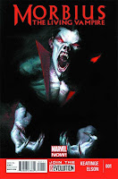 Morbius: The Living Vampire #1 Cover