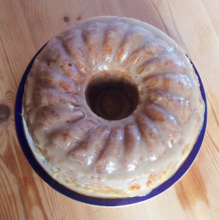 Vanilla Egg Free Bundt with Maple Glaze