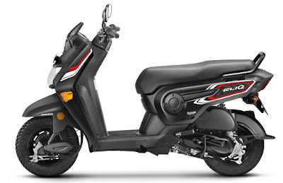 Honda Cliq side look pics