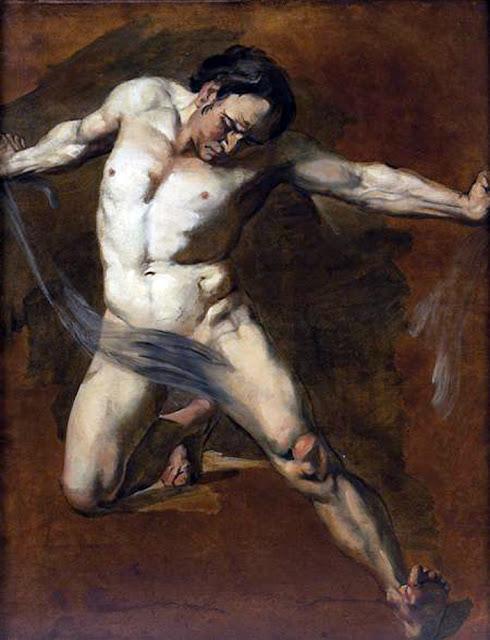 David Scott, Il nude inarte
